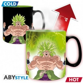 DRAGON BALL BROLY - Mug Heat Change - 460 ml Gogeta & Broly