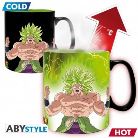 DRAGON BALL BROLY - Mug Heat Change - 460 ml Gogeta & Broly