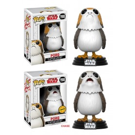 Star Wars Episode VIII assortiment POP! Vinyl figurines Bobble Head Porg 9 cm (6)