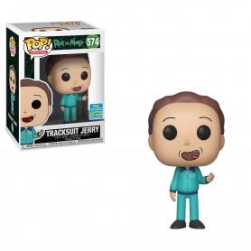 Rick et Morty Figurine POP! Animation Vinyl Tracksuit Jerry SDCC Exclusive 9 cm