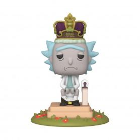 Rick & Morty POP! Movies Vinyl figurine sonore Rick on Toilet 9 cm