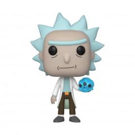 Rick & Morty POP! Animation Vinyl figurine Rick with Crystals 9 cm