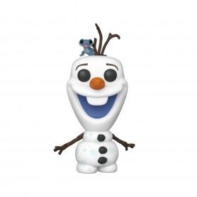 La Reine des neiges 2 POP! Disney Vinyl figurine Olaf & Bruni 9 cm