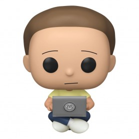 Rick & Morty POP! Animation Vinyl figurine Morty w/Laptop 9 cm