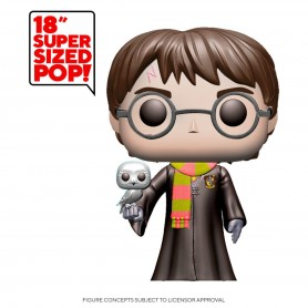 Harry Potter Super Sized POP! Movies Vinyl figurine Harry Potter 48 cm