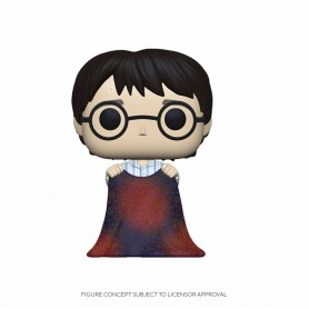 Harry Potter POP! Movies Vinyl figurine Harry w/Invisibility Cloak 9 cm