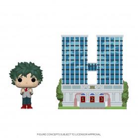 My Hero Academia POP! Town Vinyl figurine U.A. High School w/Deku in Uniform 9 cm