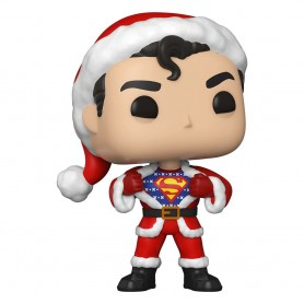 DC Comics POP! Heroes Vinyl figurine DC Holiday: Superman in Holiday Sweater 9 cm