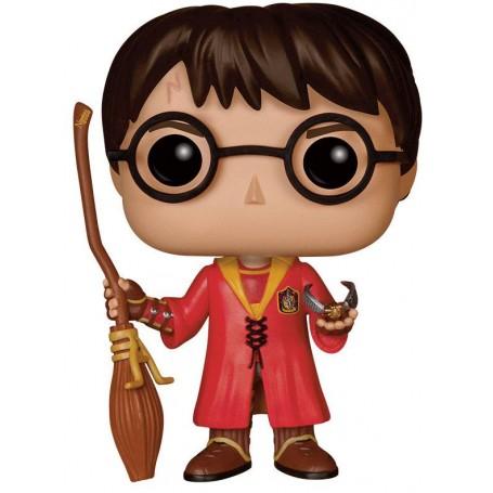 Harry Potter POP! Movies Vinyl Figurine Harry Potter Quidditch 9 cm