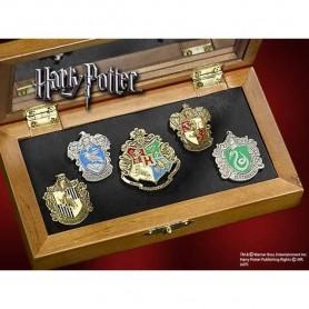 Harry Potter Coffret pins des maisons de Poudlard