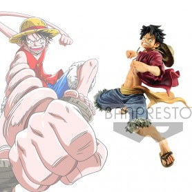 One Piece Figurine World Figure Colosseum Special Monkey D. Luffy