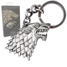 Game of Thrones porte-clés métal Stark Sigil