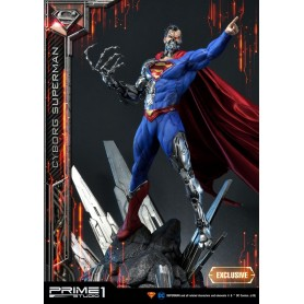 DC Comics assortiment statuettes 1/3 Cyborg Superman & Cyborg Superman Exclusive 93 cm (3)