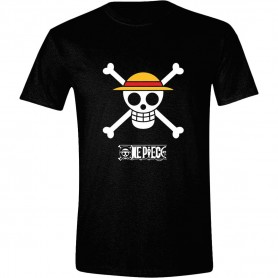 One Piece T-Shirt Luffy Logo (L)