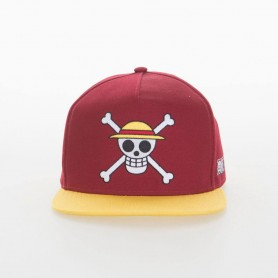 One Piece casquette Snapback Monkey D. Luffy