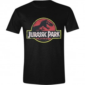 Jurassic Park T-Shirt Classic Logo (L)