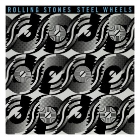 The Rolling Stones Rock Saws puzzle Steel Wheels (500 pièces)