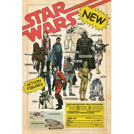 Star Wars pack posters Action Figures 61 x 91 cm (5)