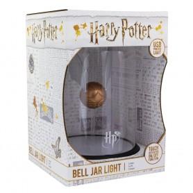 Harry Potter lampe Bell Jar Golden Snitch 20 cm