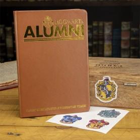 Harry Potter cahier avec set 4 autocollants Alumni