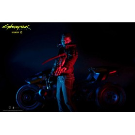 Cyberpunk 2077 figurines V Male & Yaiba Kusanagi Set