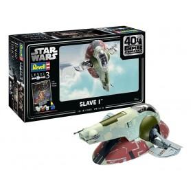 Star Wars maquette 1/88 Slave I - 40th Anniversary 34 cm