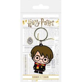 Harry Potter porte-clés caoutchouc Chibi Harry 6 cm