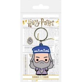 Harry Potter porte-clés caoutchouc Chibi Dumbledore 6 cm