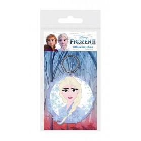 La Reine des neiges 2 porte-clés caoutchouc Elsa 6 cm