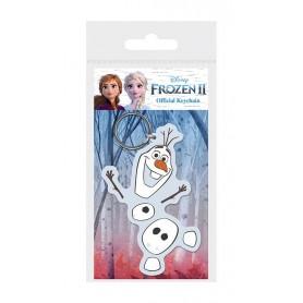 La Reine des neiges 2 porte-clés caoutchouc Olaf 6 cm