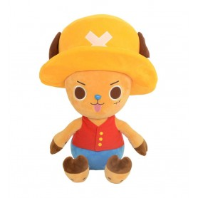 One Piece peluche Chopper x Luffy 20 cm