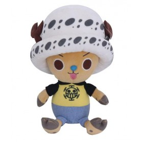 One Piece peluche Chopper x Law 20 cm