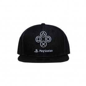 Sony PlayStation casquette Snapback Denim Symbols
