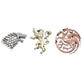 Game of Thrones pin's House Crests