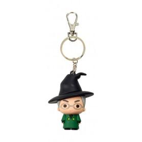 Harry Potter porte-clés caoutchouc McGonagall 7 cm