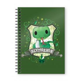 Harry Potter cahier Slytherin Kids