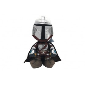 Star Wars: The Mandalorian peluche Warrior 25 cm