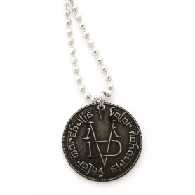 Game of Thrones pendentif et collier Iron Coin of the Faceless Man