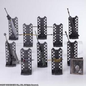 NieR Automata pack 10 accessoires pour figurines Bring Arts Weapon Collection