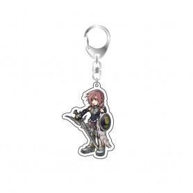 Dissidia Final Fantasy porte-clés acrylique Lightning