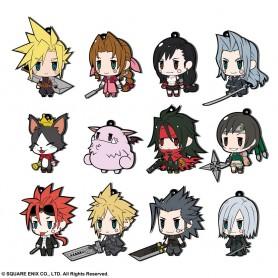 Final Fantasy assortiment charms caoutchouc 7 cm FF VII Extended Edition (12)
