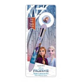 La Reine des neiges 2 stylo 6 couleurs Destiny Awaits