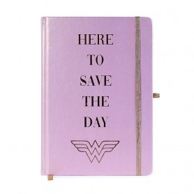 Wonder Woman carnet de notes Premium A5 Here to Save the Day