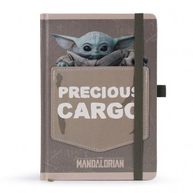 Star Wars The Mandalorian carnet de notes Premium A5 Precious Cargo
