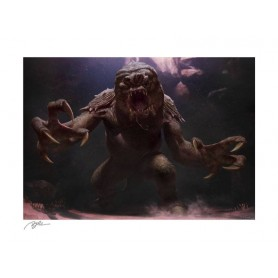 Star Wars impression Art Print The Rancor 61 x 46 cm - non encadrée