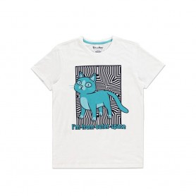 Rick et Morty T-Shirt Outer Space Cat (L)