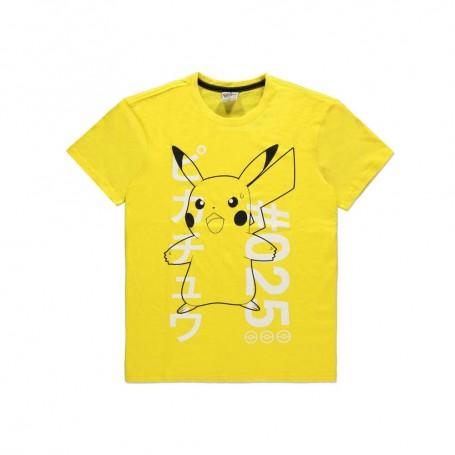 Pokémon T-Shirt Shocked Pika (M)
