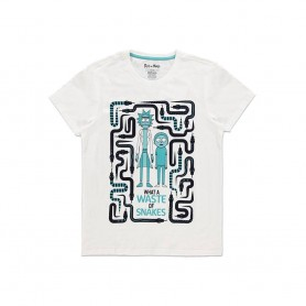Rick et Morty T-Shirt Waste of Snakes (XL)