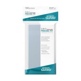 Ultimate Guard 100 pochettes refermables Precise-Fit Sleeves format japonais Transparent