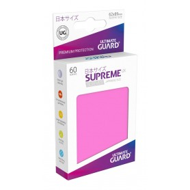 Ultimate Guard 60 pochettes Supreme UX Sleeves format japonais Rose